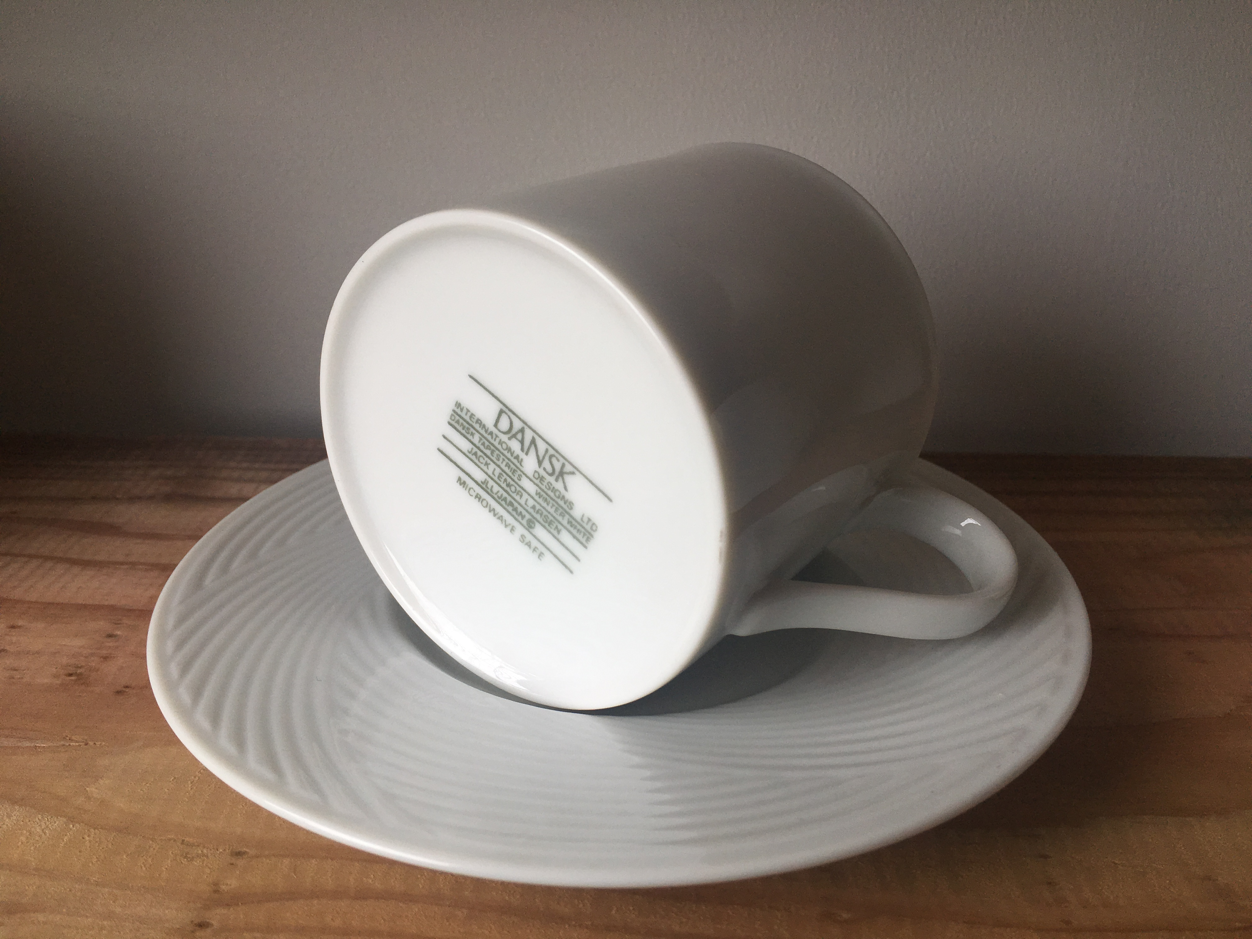 DANSK Cup&Saucer  made by maruasa